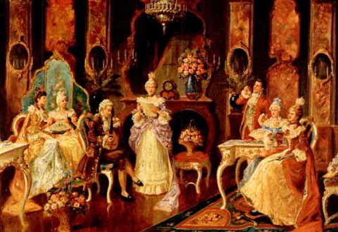 a musical reception by alexander austen