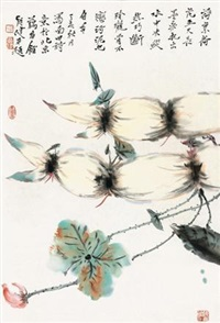 荷叶荷花 by jia guangjian