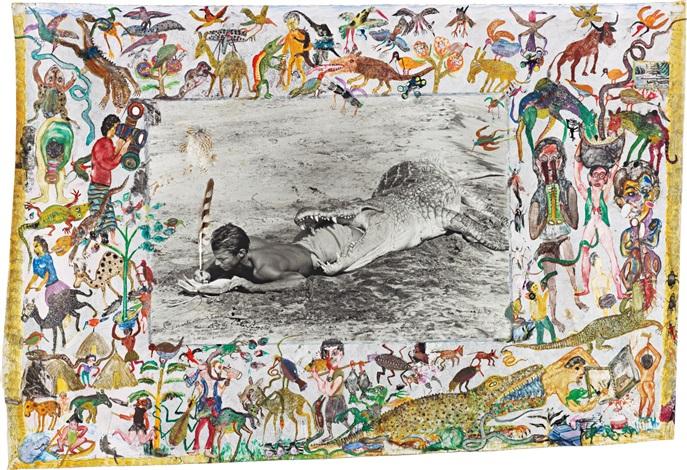 i'll write whenever i can, koobi fora, lake rudolf, kenya by peter beard
