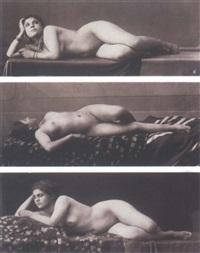 études de nus by e. aubin