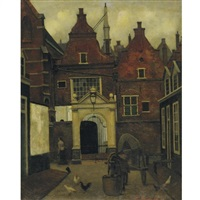 a street in holland by eduard karsen