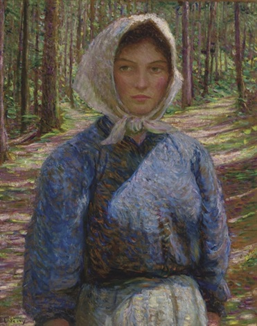 in the böhmerwald by lilla cabot perry