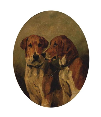 two hounds by john emms