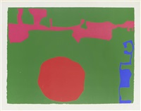 plate ii (from january 1973) by patrick heron