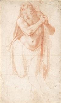 studie für die figur des hl. hieronymus by girolamo muziano