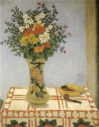 vase of flowers by georges ascher