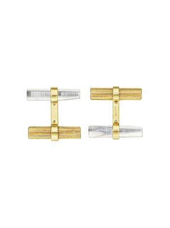 cufflinks pair by cartier