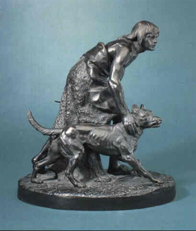 the indian hunter by john quincy adams ward