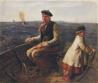 mackerel fishing by hugh cameron