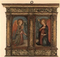 the annunciation by filippo di tomaso (fra) lippi