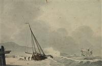 het lossen van het schip by lodewijk gillis haccou