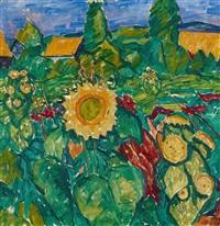 helle sonnenblumen by walter ophey