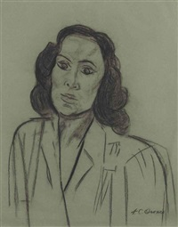 portrait of dolores del río by josé clemente orozco