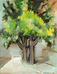 kastanienbäume by lilly steiner