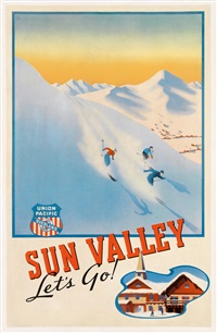 sun valley / let's go! / union pacific by phil von phul