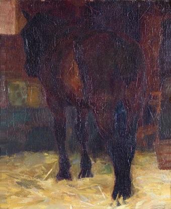 caballo by fernando fader