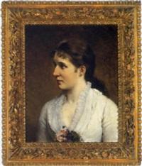 porträt der hofschauspielerin josefine wessely by hanna von rothky
