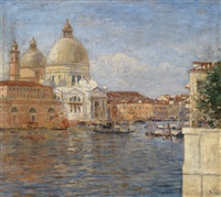 am canal grande venedig by richard lipps