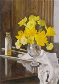 crocus in a glass by rose brigid ganly