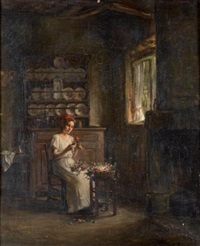 la bouquetière by franck antoine bail