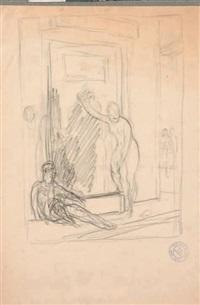 étude pour une scène de bain by jean-léon gérôme