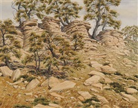 skyline, antelope butte by j. stanford perrott