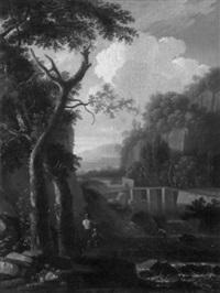 landscape with figures by bartholomeus appelman