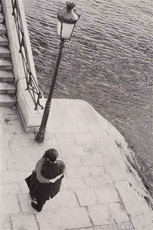 ile saint louis paris by edouard boubat