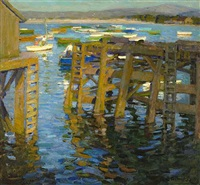 late afternoon, monterey by e.charlton fortune
