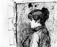 autoportrait by mariya konstantinova bashkirtseva