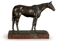 thoroughbred horse by herbert haseltine