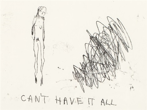 cant have it all by tracey emin