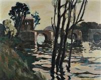 le pont de nantes by alain fournier