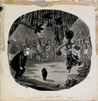 untitled (illus. for the new yorker) by charles addams