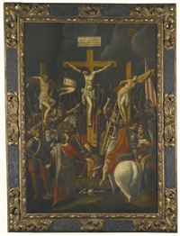 the crucifixion by flemish school (17)