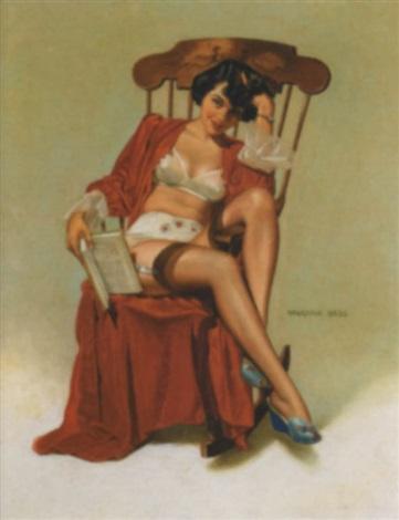 rocking chair by vaughan alden bass