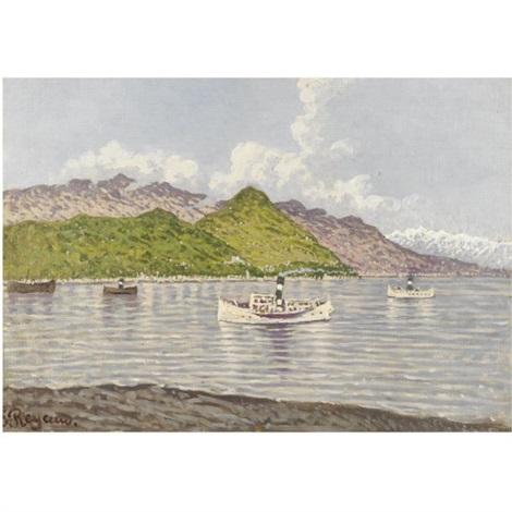 vaporetti sul lago maggiore by enrico reycend