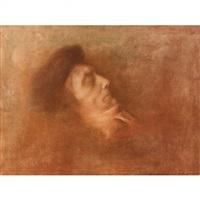 portrait de victorien sardou by lucien lévy-dhurmer