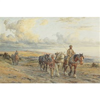 returning from work by harold joseph swanwick