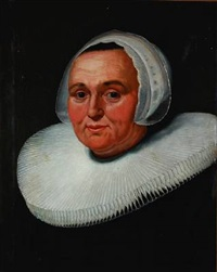 portrait of a noble woman by frans hals the elder