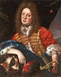 arisztokrata portréja dávidként, góliát fejével védett-no export by anonymous-central european (18)