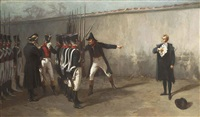 the execution of mariéchal ney by edouard armand-dumaresq