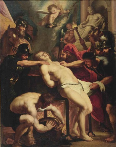 the martyrdom of saint lawrence by sir peter paul rubens