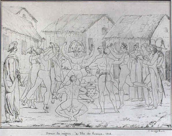 danse de nsgres à lile de france by jacques etienne victor arago