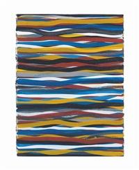 horizontal brush strokes by sol lewitt
