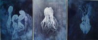 poulpe fiction (triptych) by alfons alt