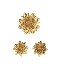 a gold flower suite by tiffany & company