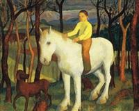 tavasz (fehér lovon) by endre hegedüs