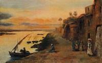 paesaggio arabo by corrodi