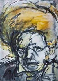 yellow headdress by kagiso patrick mautloa